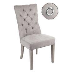Queen stol i nydelig grå farge. For mer info og bestilling: www.krogh-design.no