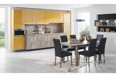 Ester Dub pílený truffel / Ester sawn oak truffel Dining Table, Marigold, Furniture, Kitchens, Design, Home Decor, News, Decoration Home, Room Decor