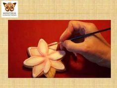 Cookie Decorating Tutorial - Lotus Flower