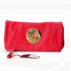 c3b69c88467 Top Seller Mulberry Daria Clutch Soft Spongy Leather Red Clutch Purse, Mulberry  Clutch Bag,