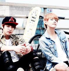 Kook & V / We Heart It