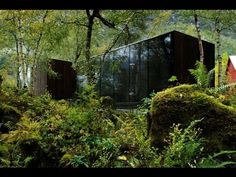 Image result for norway movie house with rock