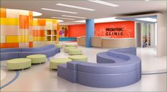 Pediatric-Office-Interior-Design, Photo  Pediatric-Office-Interior-Design Close up View.