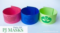 Throw your child a PJ Masks Party this year! Check out all of the fun decorations, no-sew costumes, party favors, a great party activity, and more!