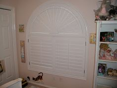 Sunburst Shutters give you great light control and privacy for  bedrooms.
