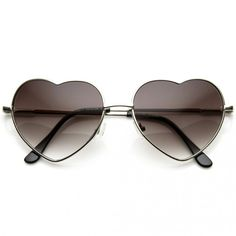 Black Friday Small Thin Metal Heart Shaped Frame Cupid Sunglasses from Unknown Cyber Monday Heart Shaped Sunglasses, Cute Sunglasses, Ray Ban Sunglasses, Round Sunglasses, Sunglasses Women, Sunnies, Uv400 Sunglasses, Summer Sunglasses, Silhouette Frames
