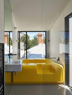 Farbe für Badezimmer: gelb 10 Ideen - http://schickmobel.com/farbe-fur-badezimmer-gelb-10-ideen/