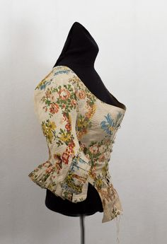 c. 1700s; possibly from Marie Antoinette's court  18th Century Clothing at Vintage Textile: #2761 Caraco jacket