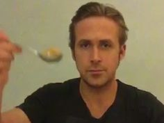 Ryan Gosling finally eats his cereal as a tribute after viral Vine star Ryan McHenry dies of cancer.