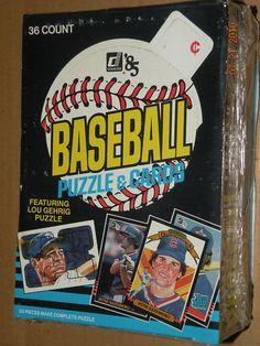 1985 DONRUSS BASEBALL UNOPENED WAX BOX FROM CASE L@@K!