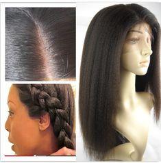 Italian yaki silk top bleached knots Full lace wigs for Black women Kinky Straight Wig, Straight Hair, Yaki Hair, Hype Hair, Hair Game, Womens Wigs, Synthetic Lace Front Wigs, Wig Styles, Wigs For Black Women