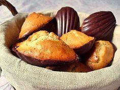 Ma Cuisine Végétalienne: Madeleines à l'orange en coque de chocolat noir (Vegan)