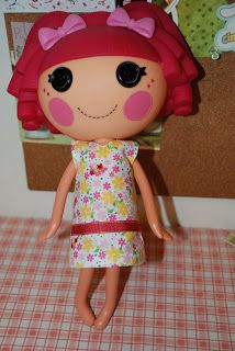 Lalaloopsy Dress Pattern...Haley would love this for her lalaloopsy doll