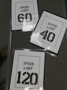 Tempo Game: Place the speed limit signs scattered around the room, seperated as far as you can. Turn on the metronome. The students listen and guess what tempo they are hearing. The students at the correct sign stay in the game. Those standing at the wrong sign sit out until there is only one person or two left and they are the winner. Music Education Games, Music Activities, Music Games, Piano Games, Class Games, Piano Lessons, Music Lessons, Middle School Music, Music Lesson Plans