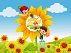 find this pin and more on cuentos cartoon wallpapers forkids - Cartoon Pictures Of Kids