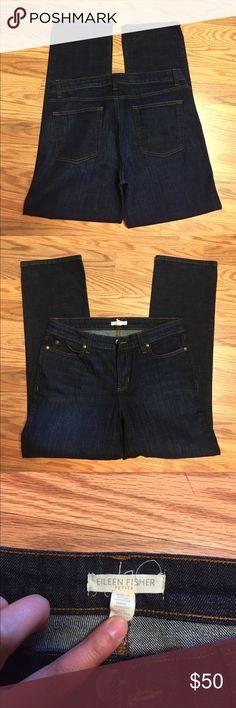 Eileen Fisher Dark denim jeans Eileen Fisher Jeans