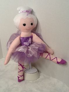 Bella Ballerina PDF Cloth Doll Pattern Great by PeekabooPorch, $9.00