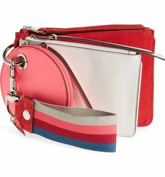 Main Image - Rebecca Minkoff Set of 3 Leather Pouches