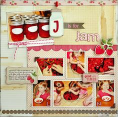 Emma's Paperie: J is for Jam