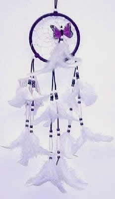 Dream Catcher Purpose Native American Dream Catchers  Native American Purple