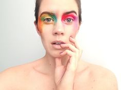 Pride make-up. ~ The Inner Everglow