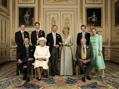 Pin for Later: A Look at Charming Prince Philip Through the Years The royal family got together after the wedding of Prince Charles and his former mistress, Camilla, Duchess of Cornwall, on April 9, 2005.