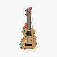 """Nature Music"" Stickers by SStarStudio Stickers Cool, Bubble Stickers, Meme Stickers, Phone Stickers, Journal Stickers, Printable Stickers, Planner Stickers, Ukulele Stickers, Frühling Wallpaper"