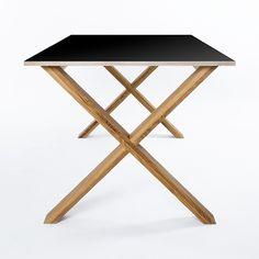 Arc Table 180 Musta ryhmässä Pöydät / Kirjoituspöydät @ RUM21 AB (112471)