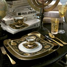 Medusa Gold Plated Cutlery