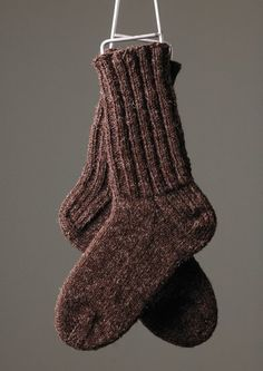 Knitting Pattern For Plain Socks : 1000+ images about Knit - Socks on Pinterest Sock ...