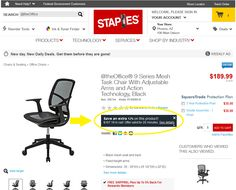 Look at this great deal we found on our 9 Series chair! --> Save an extra 12%  www.staples.com/ATO-9-Series-Mesh-Task-Chair-With-Adjustable-Arms-and-Action-Technology/product_395744