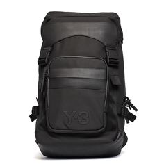 Ultra backpack from the F/W2016-17 Y-3 by Yohji Yamamoto collection in black