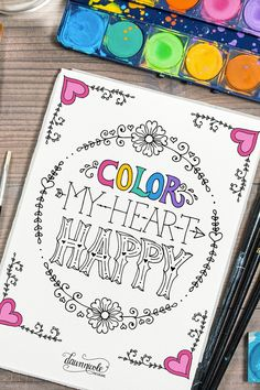 20 Free Coloring Book Printables