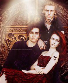 The Mortal Instruments: Jace, Clary, Simon