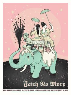 Tara McPherson | ART Posters 2010 Faith No More