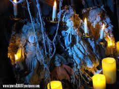 The Mitchells 2010 Halloween - Grave Dolls Display