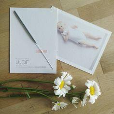 En toen was er licht, Lucie #uitnodiging #naambetekenis #doop #bloemenmeisje @rok en rol