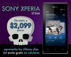 Celular Sony Xperia ST26A a $2099 pesos