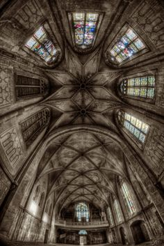 Glorious Ceiling of Abandoned Church