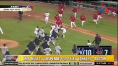 La MLB Multa Y Suspende A Varios Jugadores Por Las Peleas