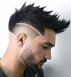 The burst fade has change into a preferred males's fade haircut in barbershops throughout. The burst taper fade is commonly paired with a mohawk coiffure, and Smart Hairstyles, Short Spiky Hairstyles, Popular Mens Hairstyles, Cool Hairstyles For Men, Mohawk Hairstyles, Best Short Haircuts, Popular Haircuts, Cool Haircuts, Haircuts For Men