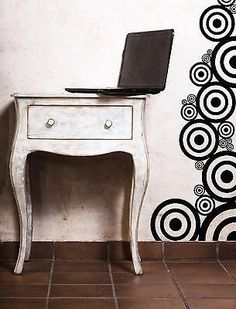 Wall Vinyl Sticker Decal Circles Layers Little Big Decoration (n087)