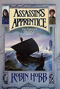 Robin Hobb: Assasin's Apprentice (& the rest of the Farseer & Tawny man trilogies)    These are the best books I've ever read. I love the Fool more than any character ever. This is fantasy at its best. Beautiful, touching and mesmerizing... <3 <3 <3