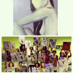 Nude Profile Photo Wall, Profile, Nude, Studio, Frame, Painting, Home Decor, Art, User Profile