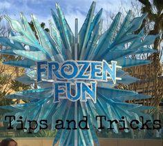Disneyland's New Frozen Fun Area - Tips and Experiences #disney #frozen