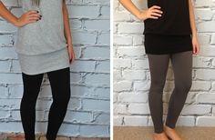 GroopDealz   Fleece Lined Leggings - Regular & Plus Size