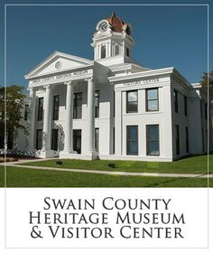 Swain County Heritage Museum Swain County Visitors Center On the second floor of the courthouse, the Swain County Heritage Museum tells the story of the County and its people. Through photos, exhibits and video you will learn about Bryson City North Carolina, Bryson City Nc, Fontana Dam, Heritage Museum, Smoky Mountain National Park, Great Smoky Mountains, Home Schooling, Virtual Tour, Second Floor