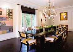 Modern Dining Room by Hallberg-Wiseley in Los Angeles, California
