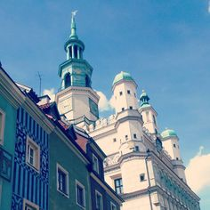 Poznan - charming as always. The most colourful city in Poland!