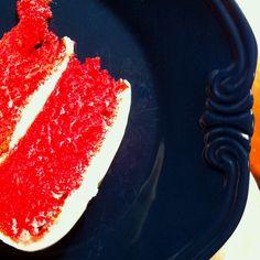 Red velvet gluten free cake.